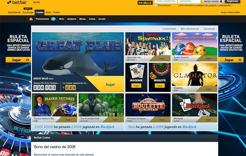 Mejores sitios de Blackjack Online en España 2018