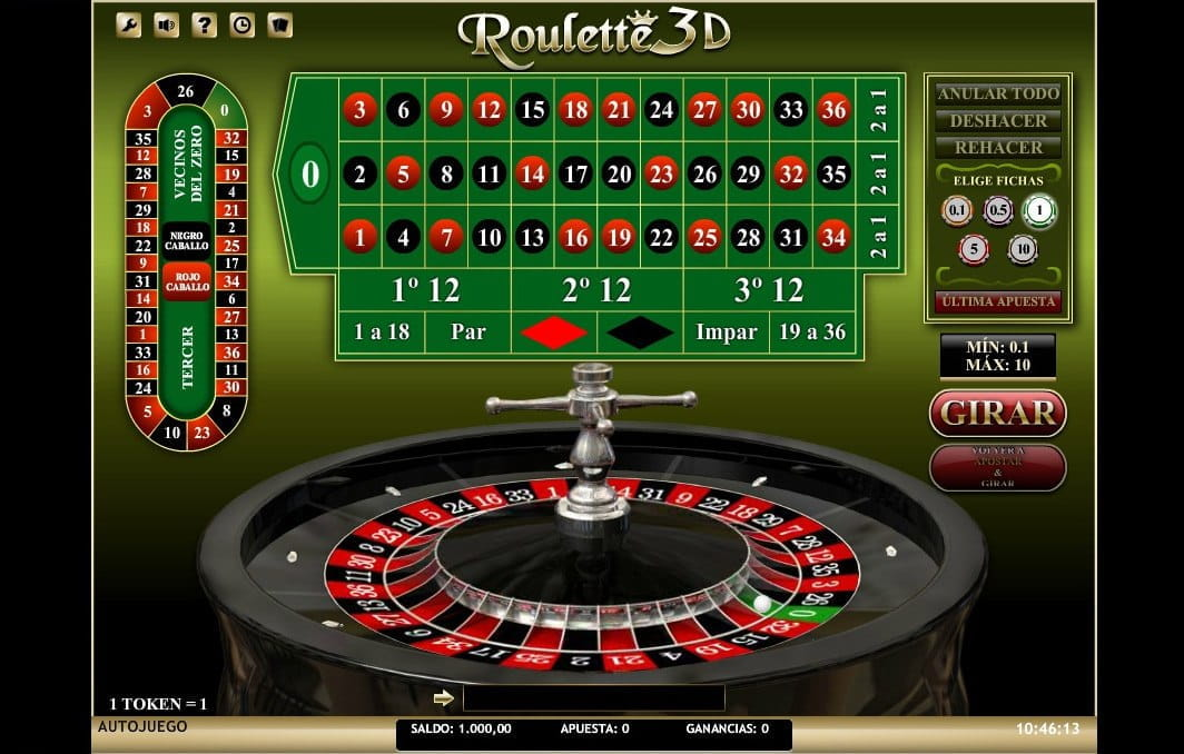 Somma dei numeri della roulette