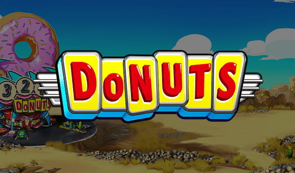 Portada de la slot Donuts de Big Time Gaming.