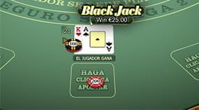 Las manos con Blackjack son pagadas al triple