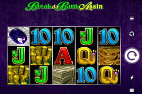 Portada de la slot Break da Bank.