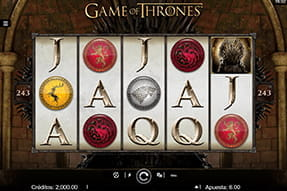 Portada de la slot Game of Thrones.