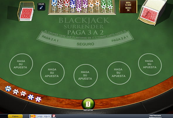 La variante Surrender de Blackjack
