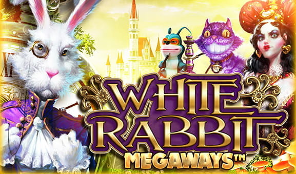 Portada de la slot White Rabbit de Big Time Gaming.
