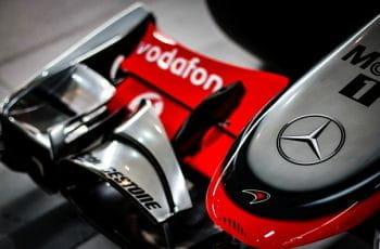 Morro de un monoplaza de Fórmula 1.