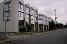 Edificios de la sede del Grupo Gauselmann en Lübbecke, Alemania.