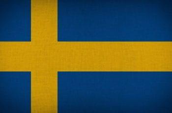 Bandera nacional de Suecia.