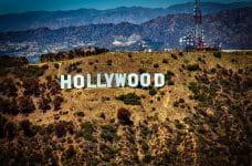 El insigne cartel de Hollywood en Los Angeles.