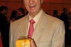 Stanley Ho, magnate de los casinos de Macao.