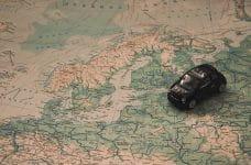 Mapa del norte de Europa.