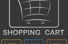 Carrito de compras digital.