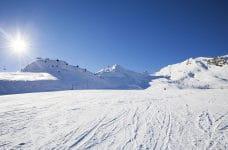 Pista de esquí en Andorra.