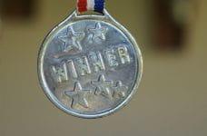 Medalla de ganador.