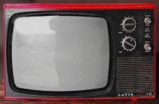 Televisión antigua.