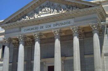 Congreso de los Diputados, Madrid, España.